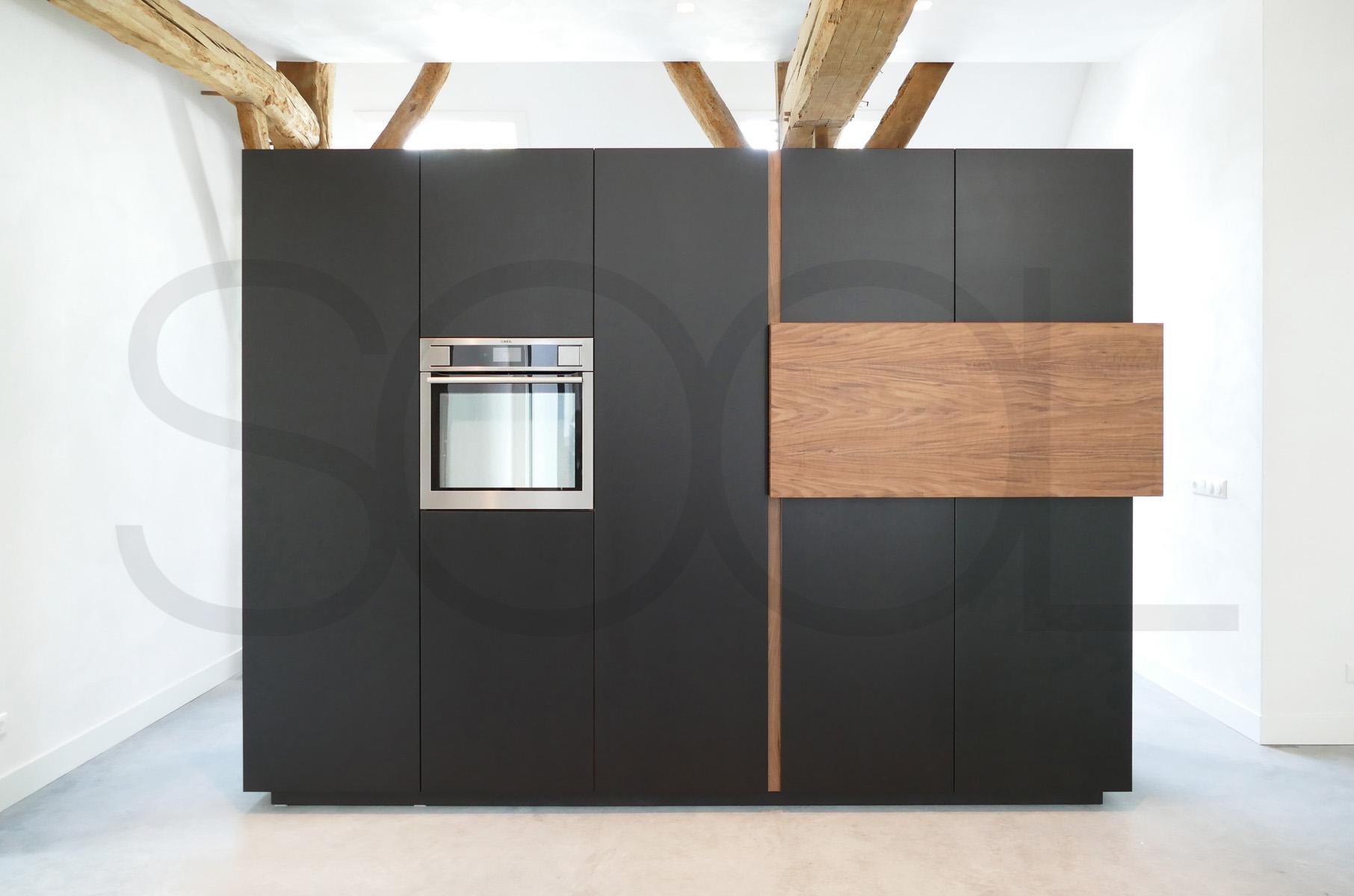 Achterwand Keuken Mdf : Zwarte mdf keuken u informatie over de keuken