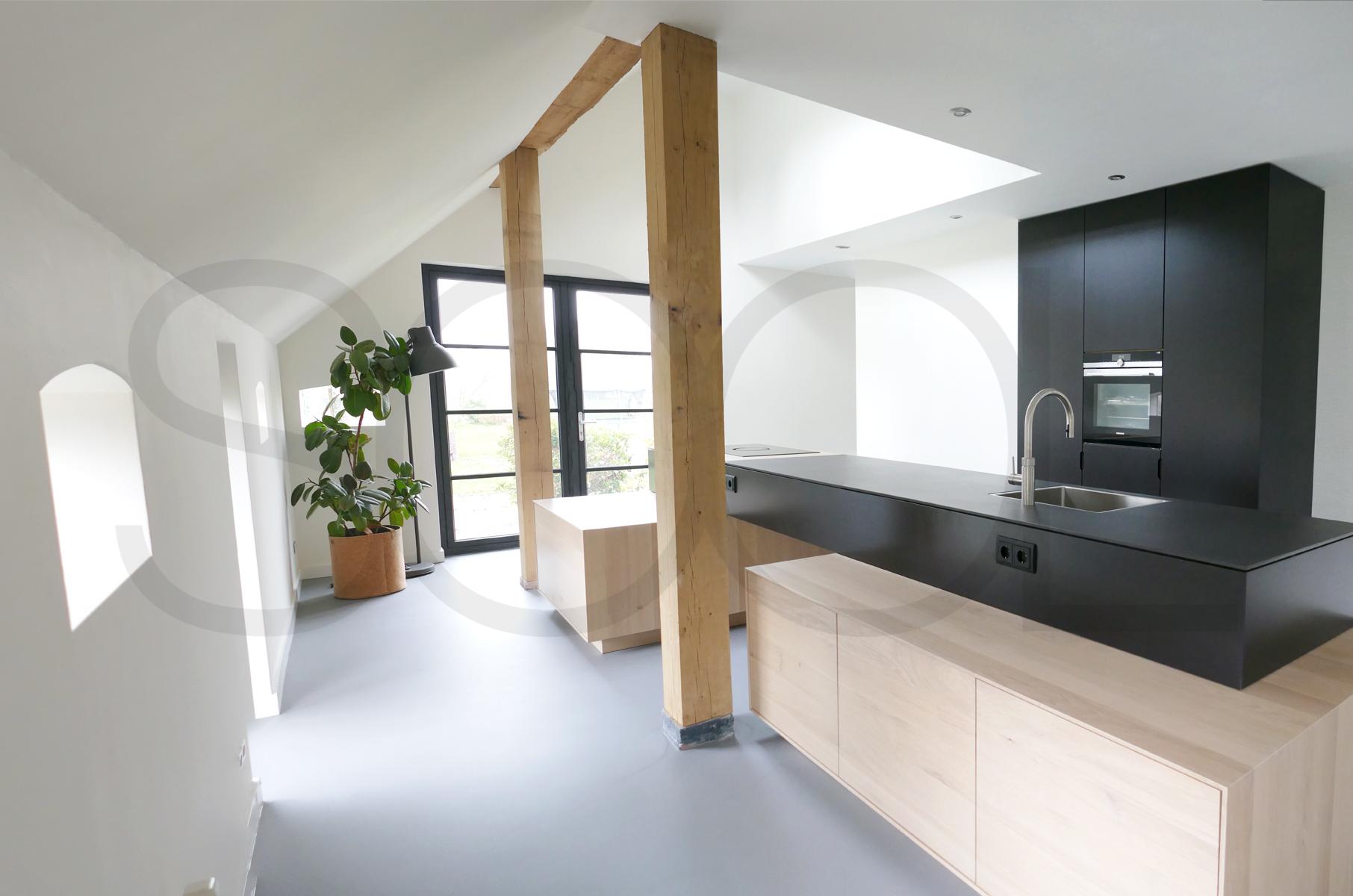 Eiken keuken te Ruinerwold