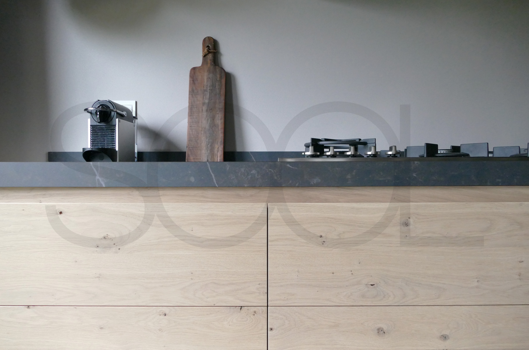 Keuken eikenhout te Assen