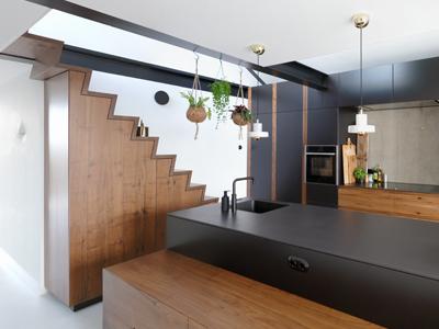 Houten keuken Amsterdam Notenhout