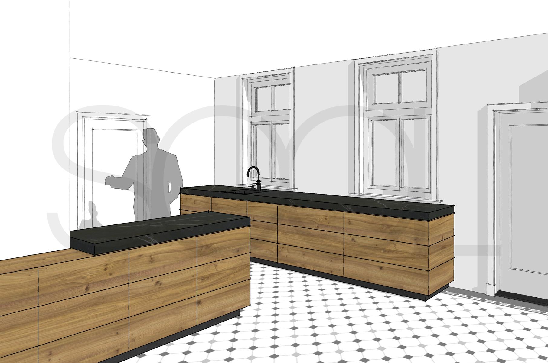 keuken iepenhout haren