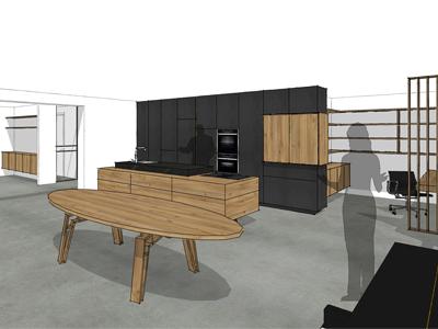 Keuken iepenhout Groningen 04