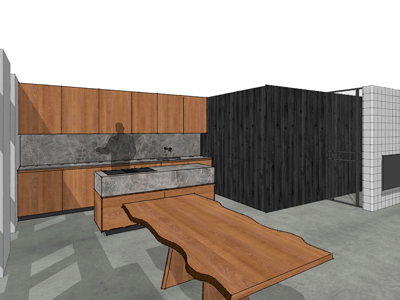 Keuken kersenhout Assen