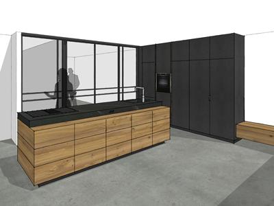 Keuken iepenhout assen 02