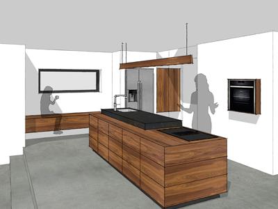 Keuken Notenhout Anerveen